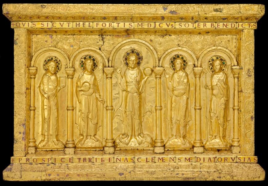 Goldene Altartafel; vor 1019